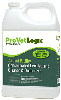 Animal Facility Disinfectant, Cleaner & Deodorizer.  1 Gallon Bottle, 4 Gallons/Case.