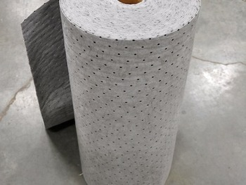 Picture of item 964-269 a Streetfyter® Universal Sorbent Roll. 32in X 300 ft. Gray.