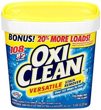 Picture of item 965-853 a OxiClean Versatile Stain Remover Powder. 5 lb.