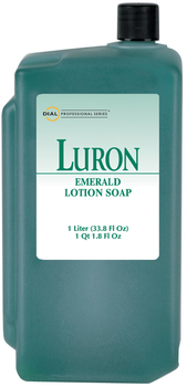Luron® Emerald Lotion Soap,  Lavender, Green, 1000mL Refill, 8/Carton