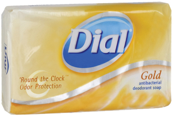 Picture of item 968-737 a Dial® Gold Bar Soap®,  Fresh Bar, 3.5oz Box, 72 Bars/Carton
