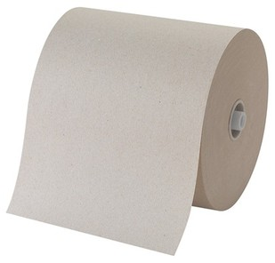 Picture of item 964-546 a GP Pacific Blue Ultra™ Paper Towels. 7.87 in. X 1,150 ft. Brown. 6 count.