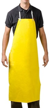 Picture of item 965-977 a Neo-Flex™ Bib Apron. 43 X 29 in. Yellow.