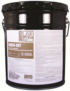 Picture of item 630-301 a Knock Out.  Oil based weed killer, fast acting, acts on contact.  Ready to Use.  5 Gallon Pail 98% Bromocil