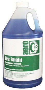 Picture of item H889-315 a Tire Bright.  Ready-To-Use Tire and Rubber Dressing 4x1 Gallon
