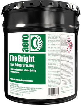 Picture of item H889-314 a Tire Bright.  Ready-To-Use Tire and Rubber Dressing.  5 Gallon Pail.