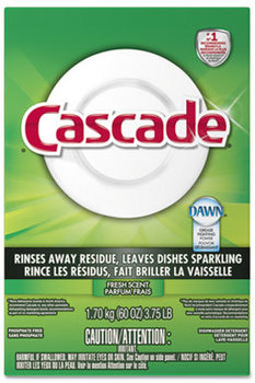 Picture of item PGC-95787CT a Cascade Dishwashing Powder. 60 oz. Fresh Scent. 6 count.