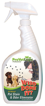WHO DONE IT? Pet Stain & Odor Eliminator.  12 Bottles/Case.