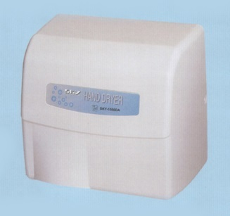 Picture of item 963-018 a Sky 1800DA  Automatic Hand Dryer. 9 X 8.5 X 7 in. White.