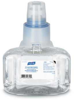 Picture of item 670-810 a PURELL® Advanced Green Certified Foam Instant Hand Sanitizer for LTX-7™ Dispensers. 700 mL. 3 count.