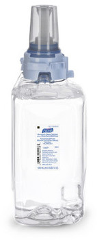 Picture of item 670-799 a Purell Advanced Green Certified Instant Hand Sanitizer Foam. 1200 mL Refill. Clear. For ADX 12 Dispensers. 3/cs.