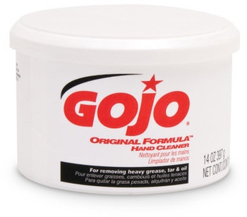 Picture of item 670-107 a GOJO® ORIGINAL FORMULA™ Hand Cleaner. 14 oz Plastic Canister. 12 Cartridges/Case.