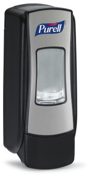 Picture of item 966-182 a PURELL® ADX-7™ Dispenser,  700 mL, Chrome/Black