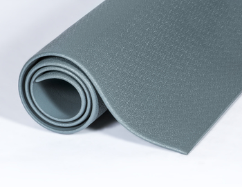 Picture of item 963-029 a Comfort-King™ Anti-Fatigue Floor Mat. 3X6 ft. Steel Gray.