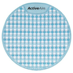 Picture of item 964-561 a ActiveAire® Deodorizer Urinal Screens. Coastal Breeze scent. 12 count.