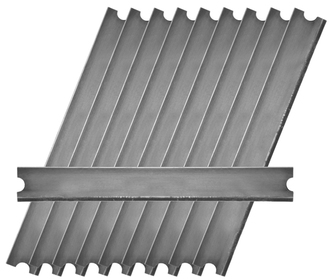Picture of item 963-054 a Replacement Blades for MDSC0 Medium Duty Scrapers. 6 in. 50 count.