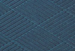 Picture of item 963-059 a Waterhog™ Diamond Fashion Border Entrance-Scraper/Wiper-Indoor/Outdoor Floor Mat. 6 X 8.4 ft. Navy.