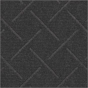 Picture of item 963-066 a Enviro Plus Wiper-Indoor Floor Mat. 4 X 4 ft. Black Smoke color.