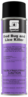 Picture of item 963-088 a Bed Bug and Lice Killer Aerosol Spray.  17.5 oz. 12 count.