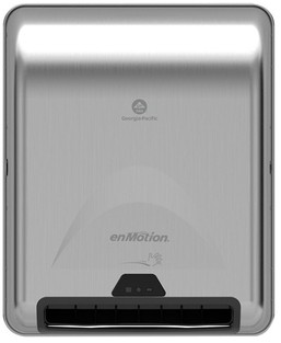 enMotion® Recessed Automated Touchless Towel Dispenser. 13.3 X 8 X 16.4 in. Stainless Steel.