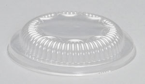 Picture of item 964-279 a Dome Lids for Genpak 12 oz Bowls. Clear. 500 count.