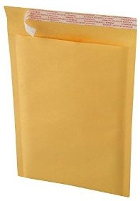 "Picture of item 402-326 a Kraft Bubble Mailer.  9.5"" x 14.5"".  Self-Sealing.  Size #4."