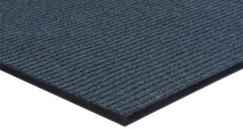 Picture of item 963-106 a Apache Rib™ Indoor Entrance Mat. 30 in X 12 ft. Williamsburg Blue.