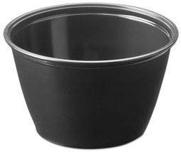 Picture of item 106-616 a Soufflé Portion Cups. 4 oz. Black. 2500 count.