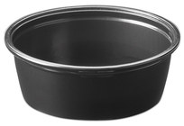 Picture of item 106-614 a Soufflé Portion Cups. 2 oz. Black. 2500 count.