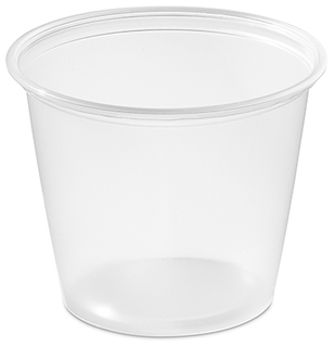 Picture of item 106-615 a Soufflé Portion Cups. 5.5 oz. Clear. 2500 count.