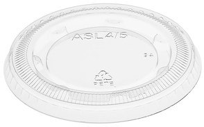 Picture of item 106-604 a Portion Cup Lids. 3.25-5.5 oz. Clear. 2500 count.