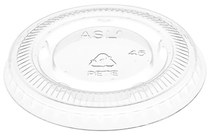 Picture of item 106-601 a Portion Cup Lids. 1 oz. Clear. 2500 count.