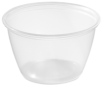 Picture of item 106-610 a Soufflé Portion Cups. 4 oz. Clear. 2500 count.