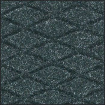 Hog Heaven Fashion Anti-Fatigue Indoor Mat. 3X5 ft. Coal Black.