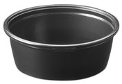 Picture of item 106-625 a Soufflé Portion Cups. 1.5 oz. Black. 2500 count.