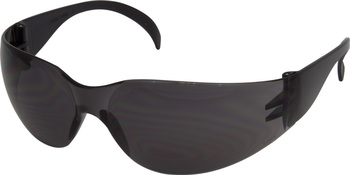 Picture of item 595-198 a Wrap Around Safety Glasses, Smoke Lens, 12/Box.