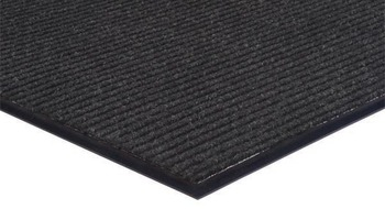Picture of item 963-240 a Apache Rib™ Indoor Entrance Mat. 3 X 12 ft. Pepper.