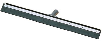 Picture of item 963-243 a Straight Blade Rubber Floor Squeegee with Metal Frame. 18 in. Black.