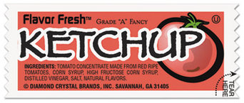 Picture of item 192-301 a Flavor Fresh Ketchup Packets, .317oz Packet, 200/Carton