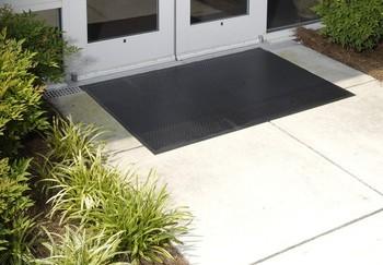 Picture of item 965-176 a Superscrape™ Indoor/Outdoor Floor Mat. 3 X 5 ft. Black.
