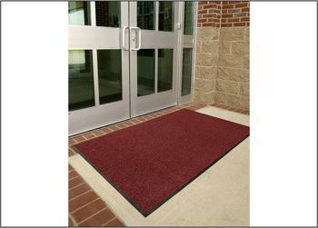 Picture of item 963-264 a Brush Hog Entrance/Scraper/Outdoor Mat. 3 X 5 ft. Burgundy.