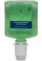 Picture of item GEP-42334 a enMotion® Green & Fragrance Free Gen2 Moisturizing E3-Rated Foam Sanitizer Dispenser Refill. 1000 ml. 2 count.