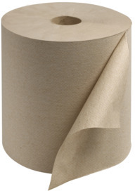 Picture of item SCA-RK8002 a Tork Universal (Core) Hand Towel Roll. 7.875 in X 800 ft. Natural. 6 rolls.