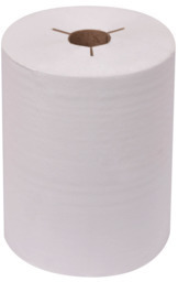 Picture of item 871-397 a Tork Controlled (Proprietary/ Strategic) Hand Towel Rolls. 425 ft X 8 in. White. 12 count.