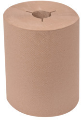 Picture of item 871-413 a Tork Controlled (Proprietary/Strategic) Hand Towel Rolls. 550 ft X 8 in. Brown. 6 count.