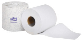 Picture of item 887-627 a Tork 2-Ply Universal Bath Tissue. 4 in X 156.25 ft. White. 96 rolls.